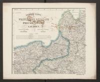 General-Karte vom westlichen Russland, Preussen, Posen, Galizien Entworfen und gezeichnet von F.Handtke