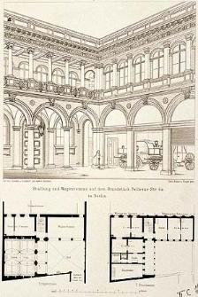 Architektonisches Skizzenbuch, 1874, Heft (V) CXXVIII, Blatt 2