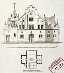 Architektonisches Skizzenbuch, 1875, Heft (I) CXXX, Blatt 6