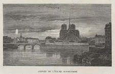 Chevet de l'église Notre-Dame, ryc. VII