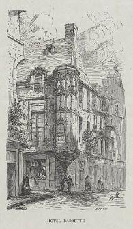 Hôtel Barbette, ryc. XX