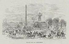 Place de la Concorde, ryc. XXXVI