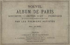 Nouvel album de Paris [ogólne informacje o albumie, okładka, strony tytułowe]