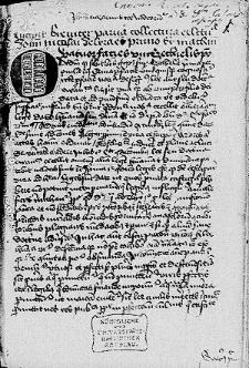 Parva collectura Nicolai de Lyra super omnes evangelistas ; Varii sermones de tempore et sanctis