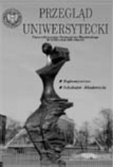 Przegląd Uniwersytecki (Wrocław) R.12 Nr 2 (119) luty 2006