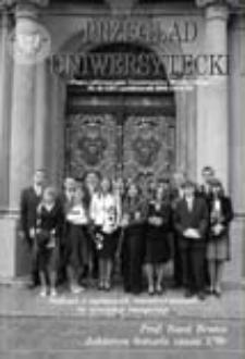 Przegląd Uniwersytecki (Wrocław) R.12 Nr 10 (127) październik 2006