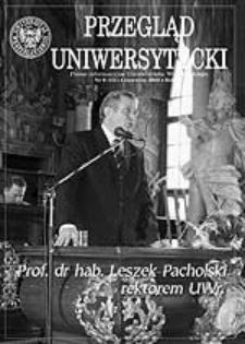 Przegląd Uniwersytecki (Wrocław) R.11 Nr 6 (111) czerwiec 2005