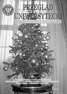Przegląd Uniwersytecki (Wrocław) R.11 Nr 12 (117) grudzień 2005
