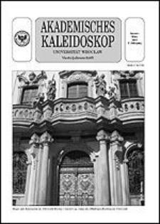 Akademisches Kaleidoskop Jg.1 Nr 1 Januar-März 2003