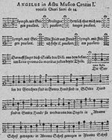 Actus musicus (Es war ein reicher Mann) de divite et Lazaro, das ist musicalische Abbildung der Parabel vom reichen Manne und Lazaro, Lucae 16. Mit gewissen Persohnen [...] und allerley Instrumenten [...] in 14. Stimmen auff 2 Chore: wie auch Dialogus Pentecostalis [...] mit gewissen Vocalstimmen und [...] Instrumenten in 10. Stimmen auff 2. Chore zum Generalbass zu musiciren [...]