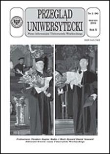 Przegląd Uniwersytecki (Wrocław) R.10 Nr 3 (96) marzec 2004