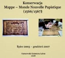 Konserwacja Mappe-Monde Nouvelle Papistique 1566/1567