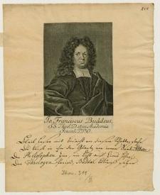 [Buddeus Johann Franz]