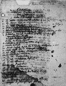[Katalog rękopiśmienny Biblioteki Gimnazjum Brzeskiego, sporządzony przez rektora Gottfrieda Thilo w r. 1691. Inc.:] E Bibliotheca Celsissimi Principis ac Domini Joh. Christiani [...].