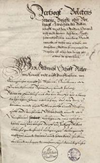 Privilegien und Statuten der Fuerstenthumer Schweidnitz und Jauer