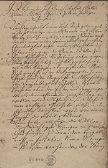 [Schriftstuecke zur Lebensgeschichte des Juristen Adam Ebert (1653 bis 1735)]