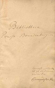 Bibliotheca Brandenburgica