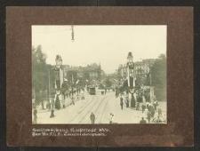Ausschmückung Kaisertage 1906.