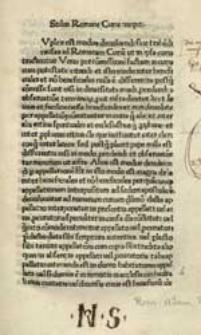 Stilus Romanae Curiae.