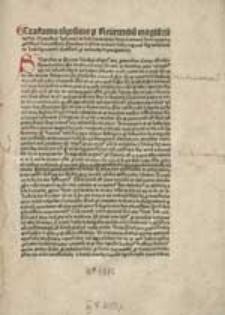 De indulgentiis pro animabus in purgatorio sive Super declaratione indulgentiarum.