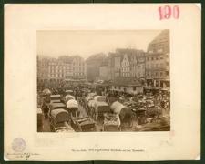 Die im Jahre 1892 abgebrochene Garküche auf dem Neumarkt