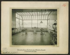 Pulvermacher-Riess'sches Krankenhaus beim Allerheiligen Hospital. Operationssaal nach Norden.