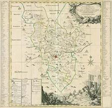 Accurate geograph. Delineation des zu dem Koenigreich Boehmen gehoerigen Egerischen Creisses [...]