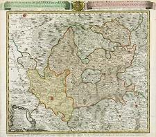 Repraesentatio geographica circuli Egerani, nec non Elnbogensis, in quo simul viae Egeranae in Thermas Carolinas [...] Exprototypo Mulleriano [...]