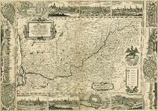 Der Oder-Strohm von seinen Ursprung durch Ober und Nieder Schlesien auch andere angränzende Länder biss in die Ost-See