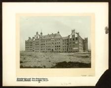Schulbauten auf den Gabitzäckern, Südost-Ansicht
