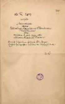 [Katalog rękopisów dawnej Biblioteki Miejskiej we Wrocławiu, t.13 (R 2807-3129)]