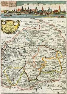 Das Fürstenthum Oppeln in Ober Schlesien