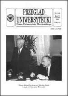 Przegląd Uniwersytecki (Wrocław) R.4 Nr 6 (29) czerwiec 1998