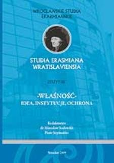 Immisja jako dopuszczalna forma ingerencji w cudze prawo własności w prawie polskim w świetle orzecznictwa