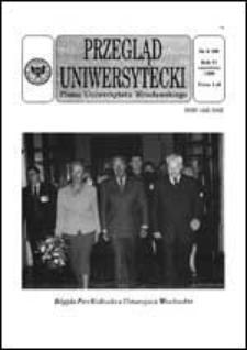 Przegląd Uniwersytecki (Wrocław) R.5 Nr 6 (39) czerwiec 1999