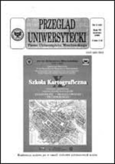 Przegląd Uniwersytecki (Wrocław) R.6 Nr 3 (48) marzec 2000