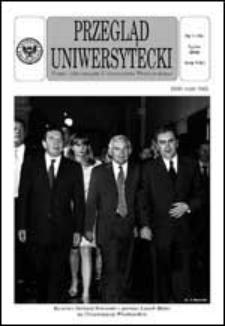 Przegląd Uniwersytecki (Wrocław) R.8 Nr 7 (76) lipiec 2002