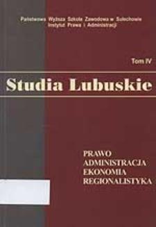 Prawne uwarunkowania funkcjonowania specjalnych stref ekonomicznych w Polsce