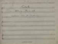 [Mleczna siostra czyli Prima donna] Pastorella / z Melodramy Mleczna Siostra / śpiewana przez p. Daszkiewiecz [!]