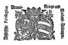 Schlesische Privilegirte Staats- Kriegs- und Friedens-Zeitungen 1744-11-28 [Jg.3] Nr 141