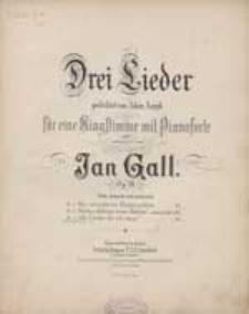 Alle Lieder, die ich singe... [z cyklu:] Drei Lieder gedichtet von Adam Asnyk : Op. 18. no. 3
