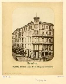Breslau. Moritz Sachs erstes Mode-Magazin Schlesiens.
