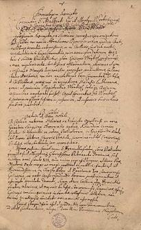 Chronologica descriptio Conventus s. Adalberti, episcopi et martyris, Wratislaviensis