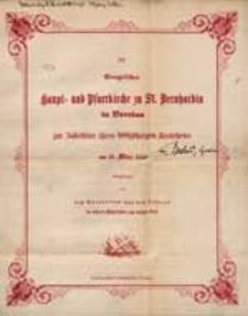 """""""Sei getrost, dein Glaube hat Dir geholfen"""" : Predigt gehalten in der St. Bernhardin-Kirche zu Breslau [...] / von J.H. Reinkens."""