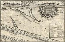 Plan der Attaque der Stadt Brieg
