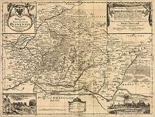 Ducatus in Silesia Inferiore Olsnensis Novissima Delineatio
