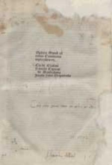 Spaera mundi / Cum commentariis Cicchi Esculani, Francisci Capuani, Iacobi Fabri Stapulensis.