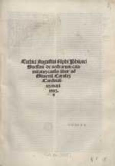 Euthici Augustini Niphi Philotei Suessani de nostrarum calamitatum causis liber [...].