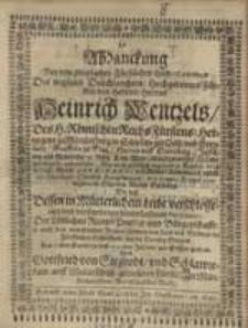 Abdanckung Bey dem [...] Fürstlichen Leich-Conduct [...] .