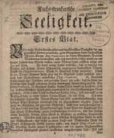 Fuchs- streicherische Seeligkeit. Bl. 1-3.